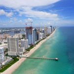Miami Vacation Apartments Sunny Isles a bird-eye view