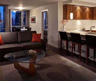 Yaletown Suites Living Room