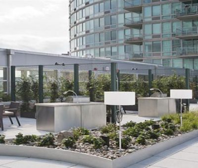 Jersey City Residence Grill Area
