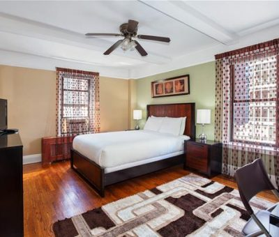 Master bedroom in Two-bedroom Apartment
